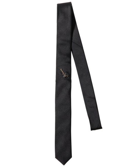 The Kooples - Black Corbata De Seda 5cm for Men - Lyst
