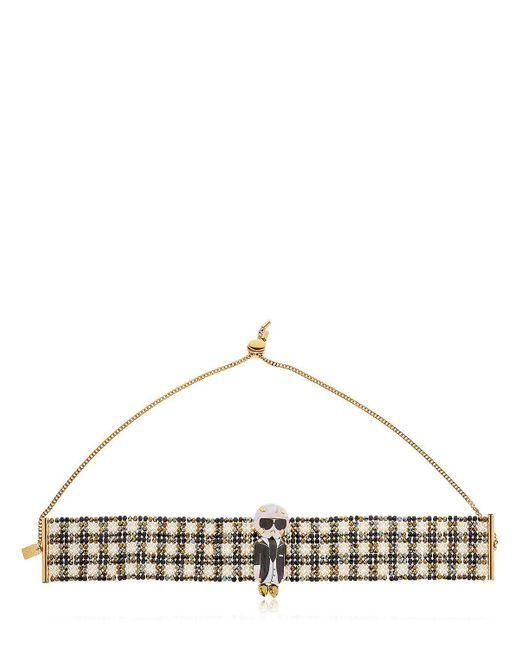 Bijoux De Famille - Multicolor Karl Beaded Choker Necklace - Lyst