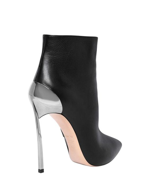 Casadei 120MM TECHNO BLADE LEATHER ANKLE BOOTS ERUe3