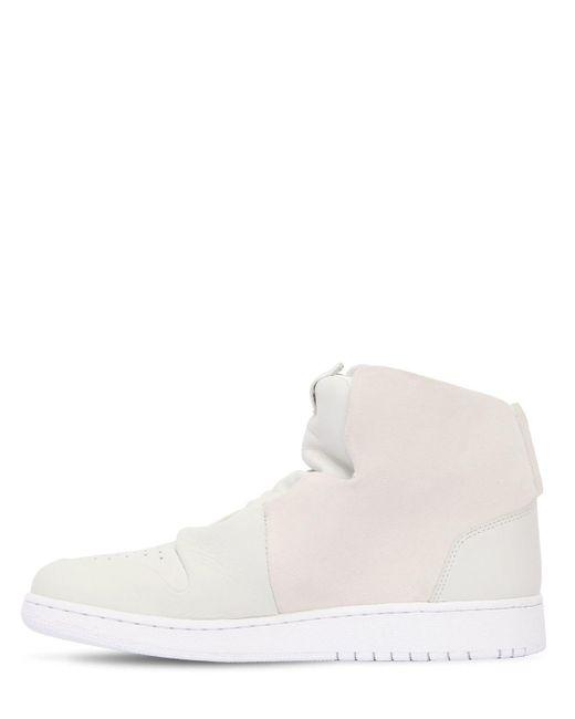 Lyst Nike Air Jordan 1 Sage Xx Mid Top Sneakers in White for Men