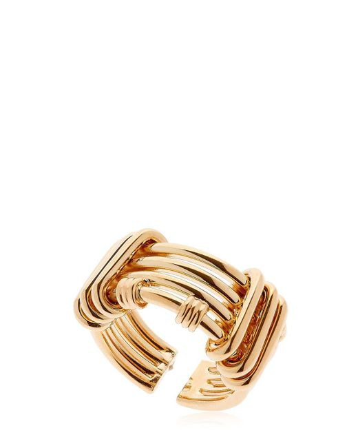 Maria Francesca Pepe | Metallic Hoops I Did It Again Ring | Lyst