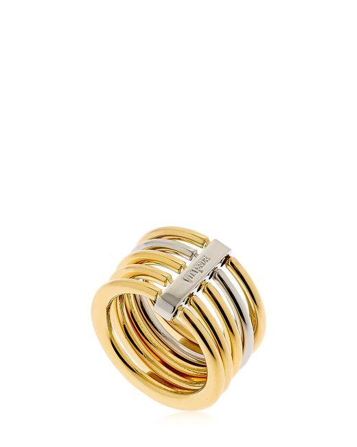 Vita Fede | Metallic Sophia Two Toned Ring | Lyst