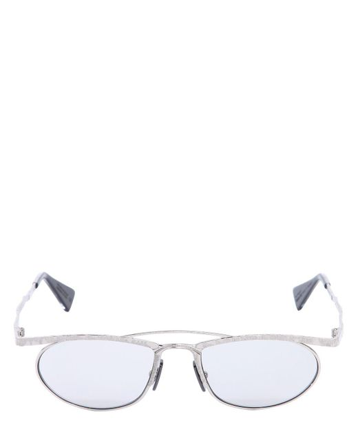 Kuboraum Berlin - Metallic Gafas De Sol De Metal Color Plata for Men - Lyst