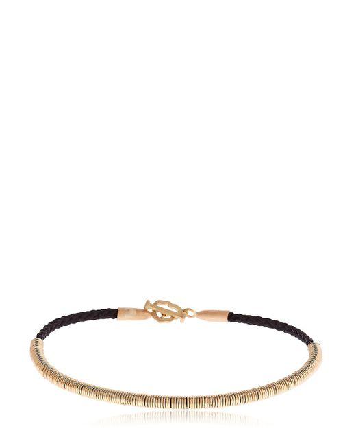 Luis Morais - Metallic Uber Braided Bracelet for Men - Lyst