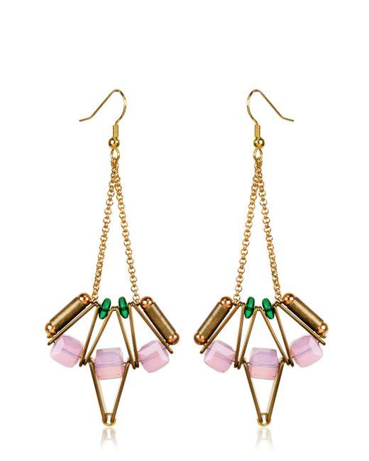 Scho | Metallic Lotus Earrings | Lyst