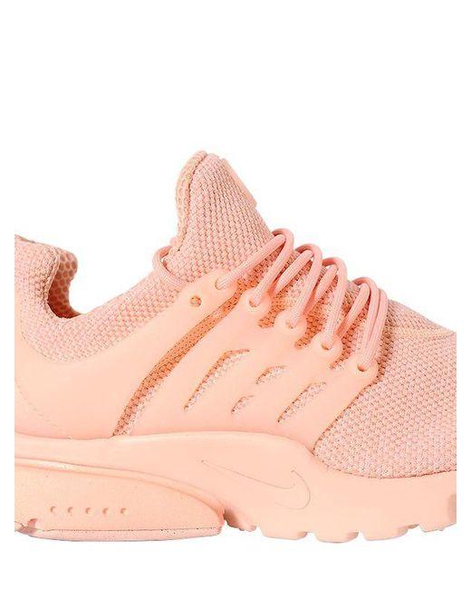 ... nike pink presto ultra breathe for men lyst