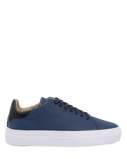 Axel Arigato | Blue Clean 360 Matte Leather Sneakers for Men | Lyst