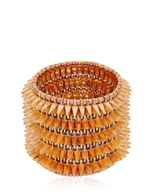 Philippe Audibert | Pink Uma Cuff Bracelet | Lyst