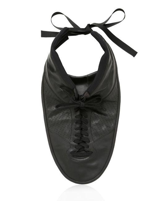 Maison Margiela   Black Plastron Sneaker Necklace   Lyst