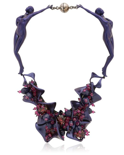 Heaven Tanudiredja | Purple Two Bodies Necklace | Lyst