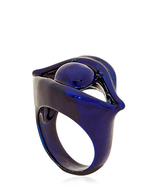 Virzi+de Luca | Blue Blink Ring | Lyst