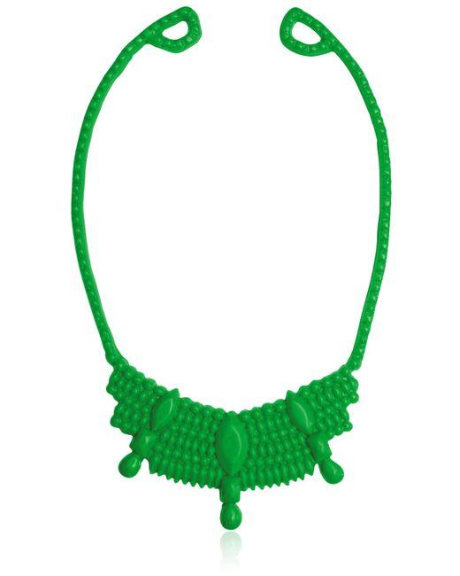 Mariah Rovery | Green Colar Rainha Necklace | Lyst