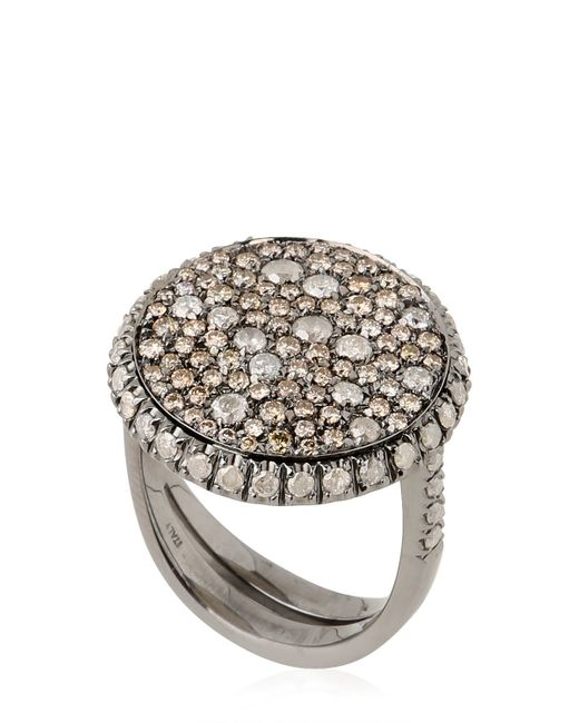 Roberto Marroni | Black Oxidized Ring | Lyst