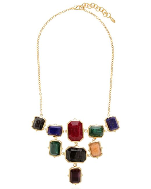 Isharya | Metallic Rani Rocks Necklace | Lyst