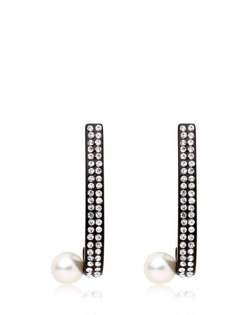 Vita Fede | Black Lia Comma Earrings | Lyst