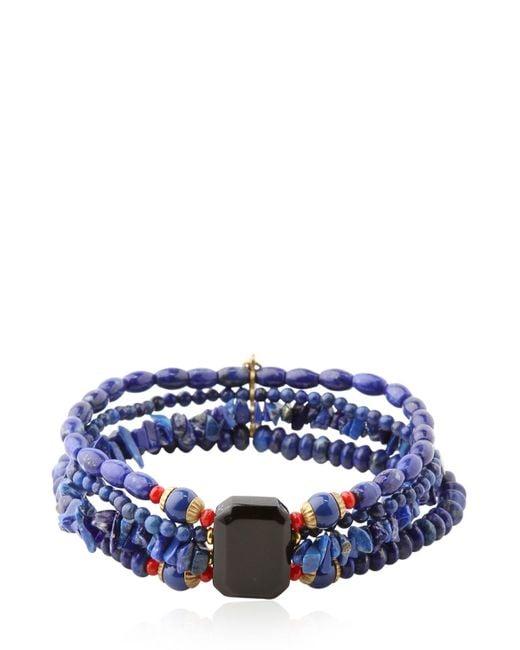 Isabel Marant   Blue Valentina Bracelet   Lyst