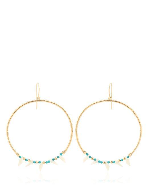 Aurelie Bidermann | Metallic Turquoise Earrings | Lyst