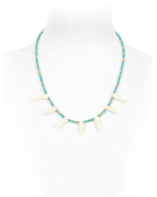 Aurelie Bidermann | Blue Turquoise Necklace | Lyst