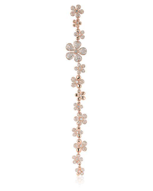 Colette | Pink Flower Duster Mono Earring | Lyst