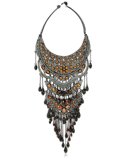 Philippe Audibert   Metallic Suzan Silverplated Necklace   Lyst