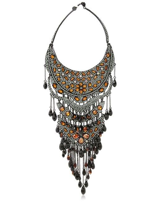 Philippe Audibert | Metallic Cable Chain Cuff Necklace | Lyst