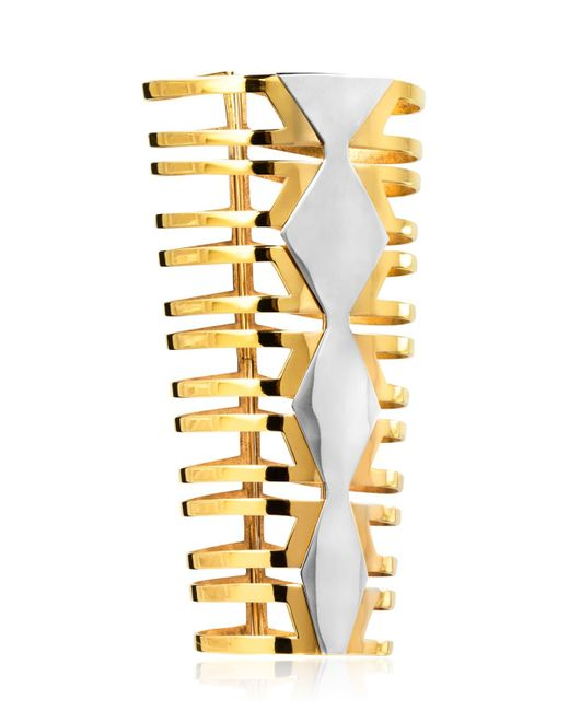 Monica Sordo | Metallic Mali Cuff Bracelet | Lyst