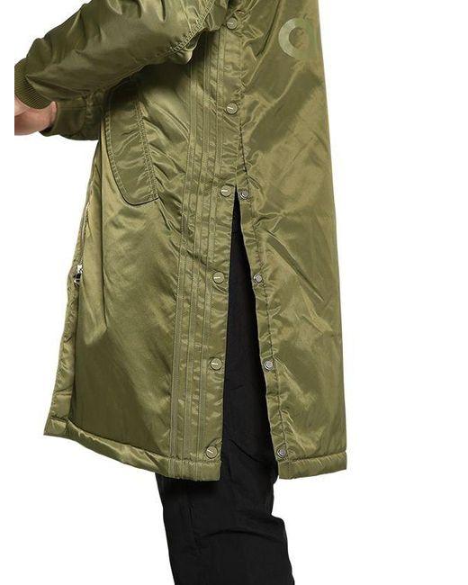 8c93eaef60a4 ... Adidas Originals - Green Sst Hzo Nylon Bomber Coat for Men - Lyst ...