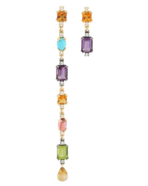 Roberto Marroni | Metallic Happy Queen Colors Earrings | Lyst
