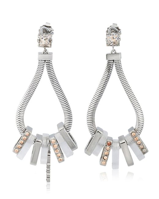 Ledaotto | Metallic Shangai Earrings | Lyst