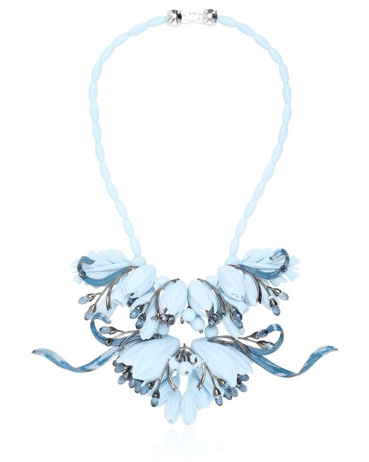 EK Thongprasert | Blue Ikebanana Flower Silicone Necklace | Lyst