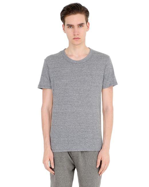 Alternative Apparel | Gray Eco-jersey Crewneck T-shirt for Men | Lyst