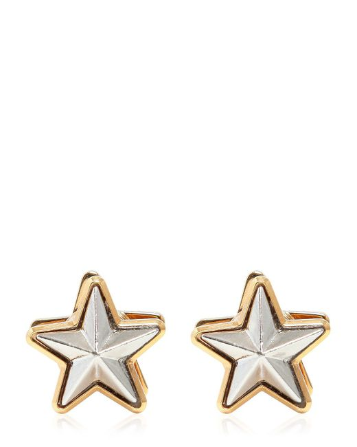Givenchy | Metallic Stars Magnetic Earrings | Lyst