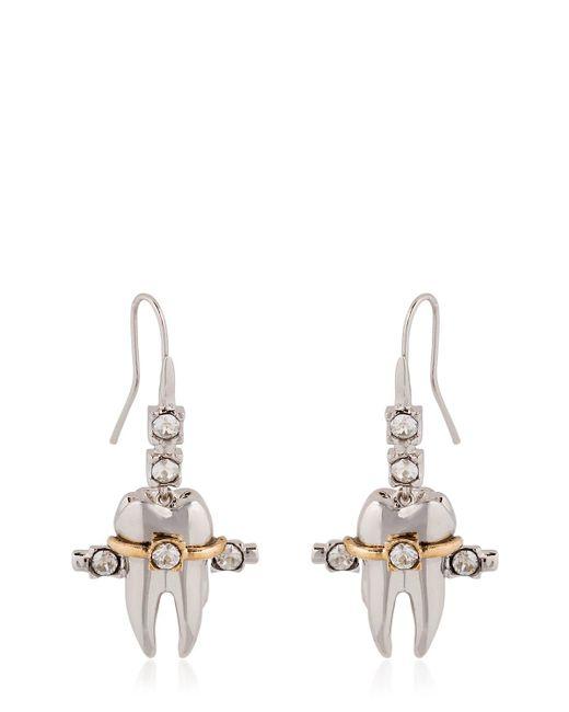 Schield | Metallic Teeth Braces Earrings | Lyst