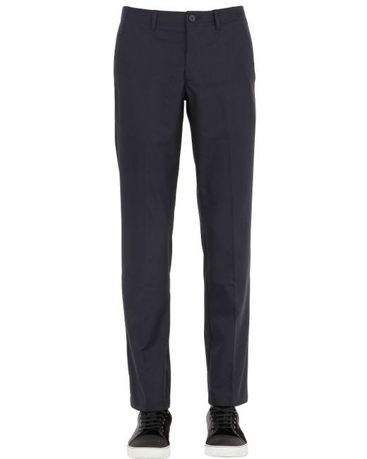 BOSS Green   Blue Techno Twill Golf Pants for Men   Lyst