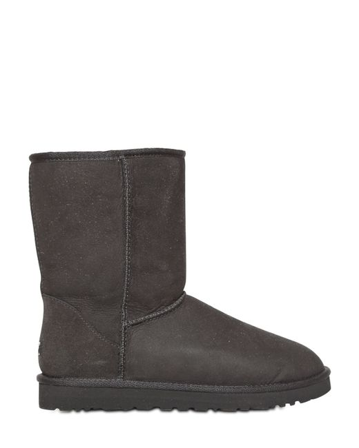 Ugg | Black Classic Short Shearling Boots | Lyst