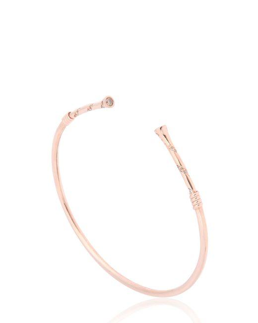 MARCO DAL MASO | Pink Koiwi Gold Bracelet | Lyst