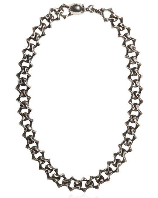 Emanuele Bicocchi | Metallic Silver Chain Necklace | Lyst