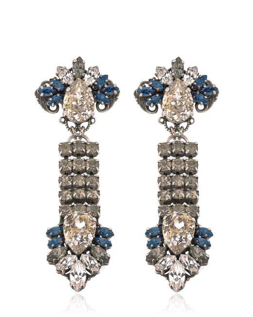 Anton Heunis | Blue Rebel Earrings | Lyst