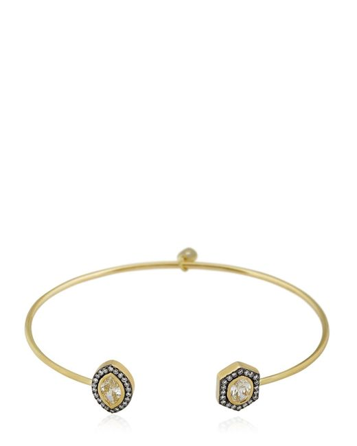 Jemma Wynne | Metallic Limited Edition Diamonds Bracelet | Lyst