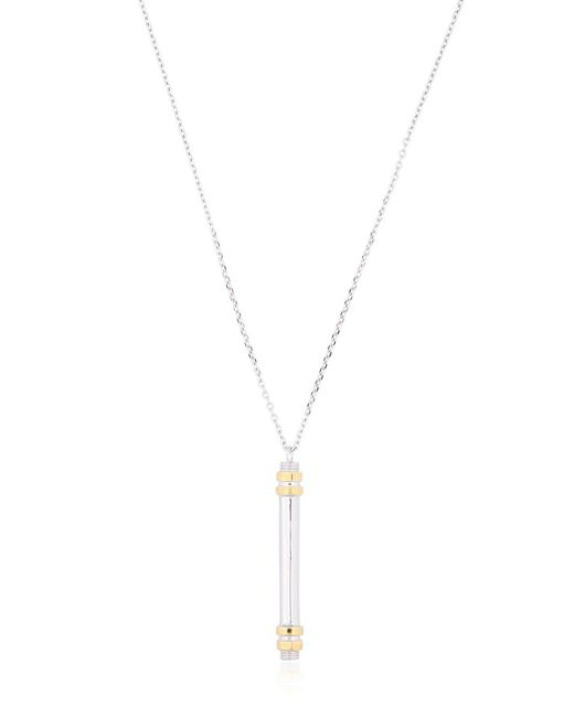 W. Britt | Metallic Vertical Bar Pendent Necklace | Lyst