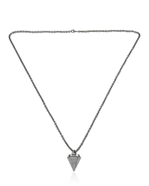 Vita Fede   Metallic Thea Full Pave Necklace   Lyst