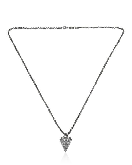 Vita Fede | Metallic Thea Full Pave Necklace | Lyst