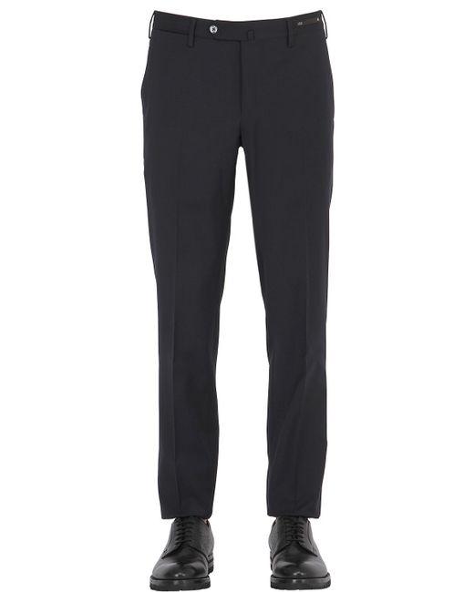 PT01 | Black 18cm Summer Traveller Techno Wool Pants for Men | Lyst
