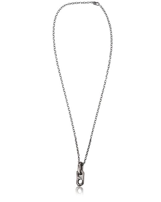 Henson | Metallic Carved Links Necklace for Men | Lyst