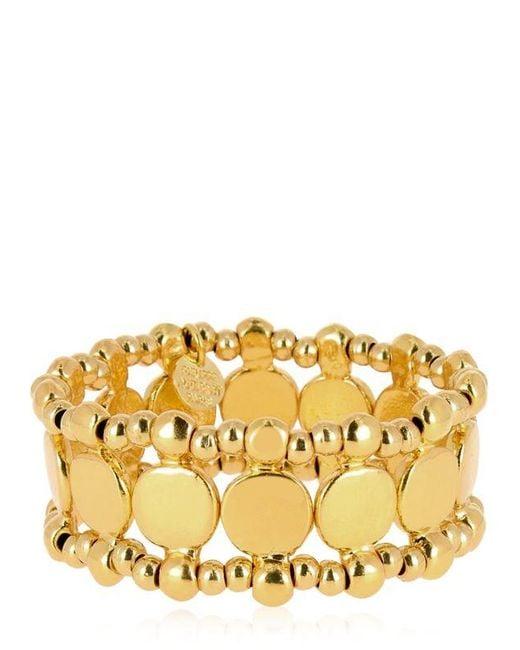 Philippe Audibert   Metallic Zacharie Gold Stretch Bracelet   Lyst