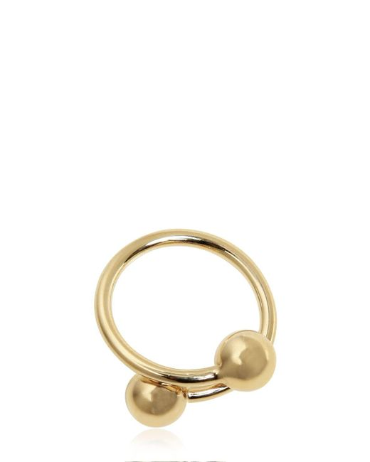 J.W. Anderson | Metallic Small Double Ball Ring | Lyst