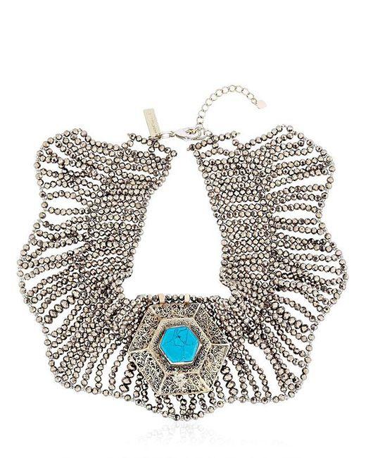 Night Market | Metallic Collar Necklace | Lyst