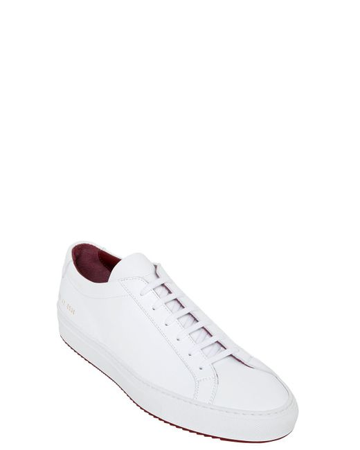 common projects achilles super sneakers in white for men lyst. Black Bedroom Furniture Sets. Home Design Ideas