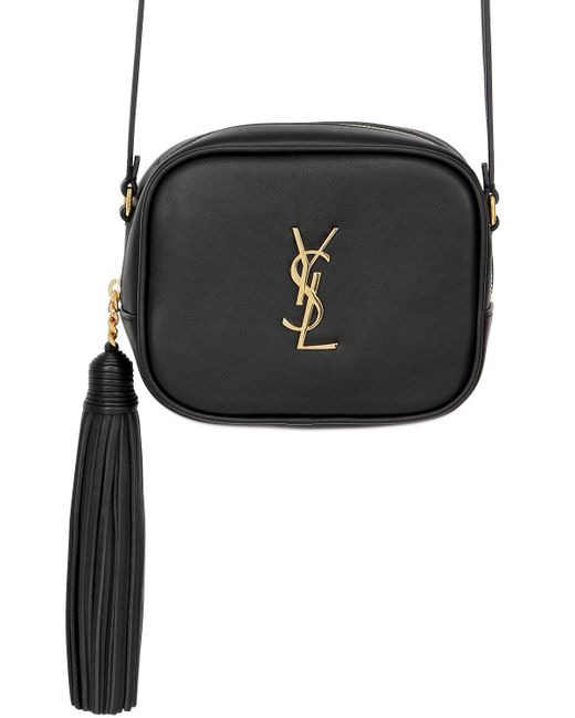 Saint Laurent | Black Monogram Blogger Leather Bag | Lyst