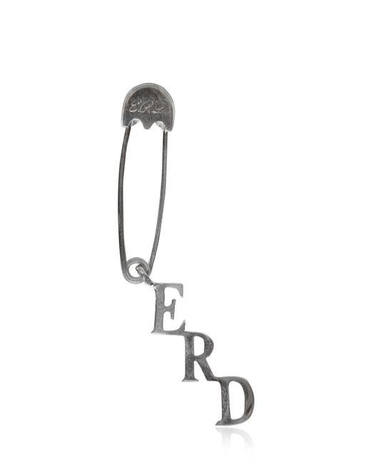 Enfants Riches Deprimes | Metallic Silver Safety Pin Single Earring | Lyst